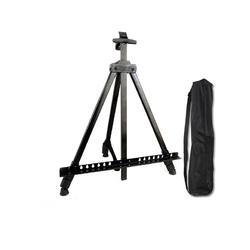 Glance Metal Şövale Seti 12x12ml Yağlı Boya - 35x50 Tuval - Rich profesyonel Fırça - Thumbnail