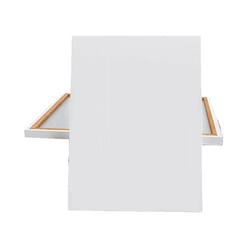 Glance Metal Şövale Seti - 35x50 Tuval - Monalisa 12x12ml Yağlı Boya - Rich Profesyonel Fırça - Thumbnail