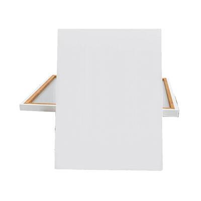 Glance Metal Şövale Seti - 35x50 Tuval - Monalisa 12x12ml Yağlı Boya - Rich Profesyonel Fırça