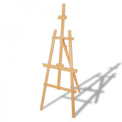 Glance Şövale Seti 12x12 Yağlı Boya - 35x50 Tuval - Rich Profesyonel Fırça