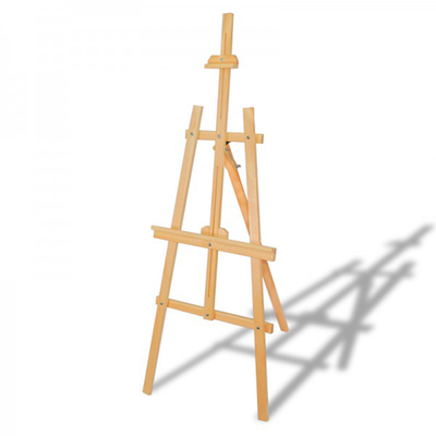 Glance Şövale Seti 12x12ml Yağlı Boya - 50x70 Tuval Rich Profesyonel Fırça