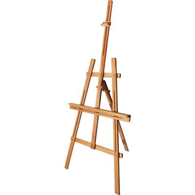 Glance Şövale Seti - Derwent Academy 12x12ml Yağlı Boya - 50x70 Tuval - Rich Profesyonel Fırça