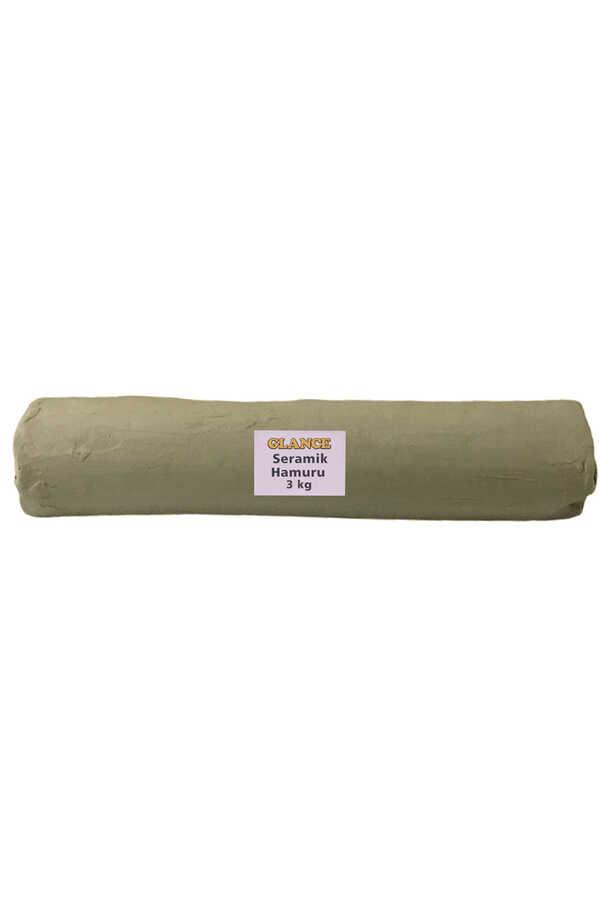 Seramik Hamuru 3 kg Beyaz
