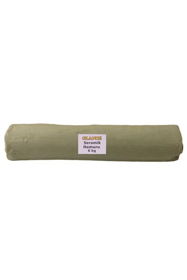 Seramik Hamuru 6 kg Beyaz